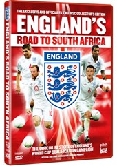 England's Road to South Africa 2010 (2 DVDs)