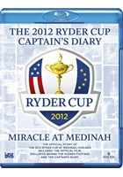 2012 Ryder Cup Review and Diary USA 13½ - 14½ Europe (2 Discs) Blu-ray