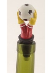 Football Hands Bottle Stopper
