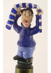 Football Fan Bottle Stopper