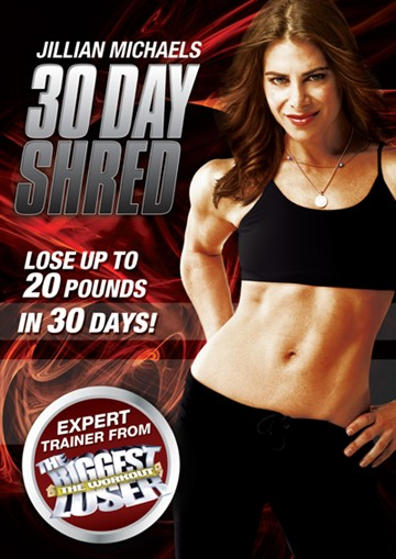 Jillian Michaels - 30 Day Shred DVD - click to enlarge