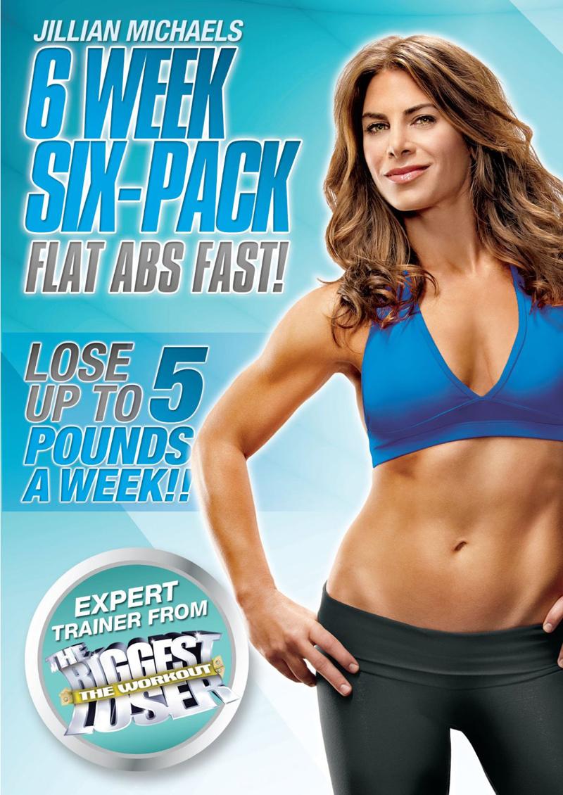 Jillian Michaels: 6 Week Six-Pack DVD : Duke Video