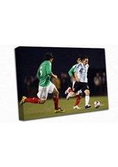 Lionel Messi A3 Canvas Print
