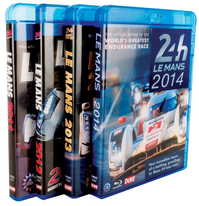 Le Mans Blu-ray Bundle 2011 - 2014
