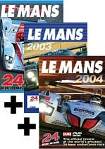 Le Mans Dvds 02, 03, 04 Offer
