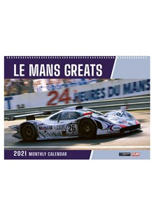 Le Mans Greats 2021 Wall Calendar