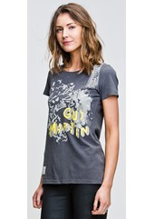 SpannerSpill (Ladies) Graphite T-Shirt