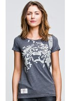 Oily Spanner (Ladies) Graphite T-Shirt