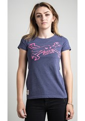 Toolbox (Ladies) Ribbon Blue T-Shirt