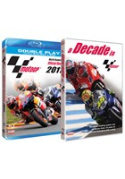 MotoGP 2011 Official Review Blu-ray + A Decade in MotoGP DVD Bundle