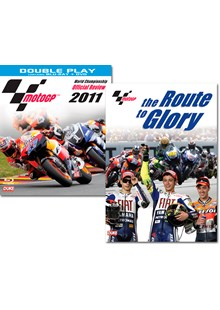 MotoGP 2011 Official Review Blu-ray + MotoGP Route to Glory DVD Bundle