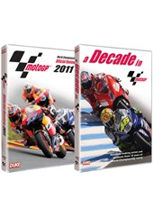 MotoGP 2011 Official Review DVD + A Decade in MotoGP DVD Bundle