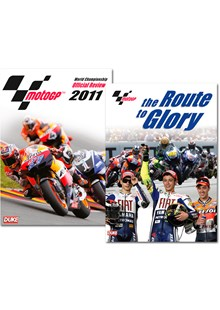 MotoGP 2011 Official Review DVD + MotoGP Route to Glory DVD Bundle
