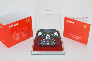 Ferrari F2008 1/4 Scale Steering Wheel - click to enlarge
