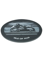 Bike Slate Coaster Large