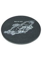 Map Slate Coaster Small