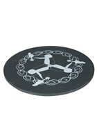Three Legs Slate Coaster Large