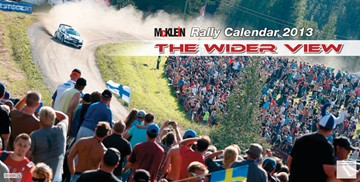 Mcklein WRC 2013 Calendar - click to enlarge