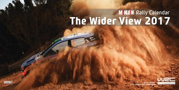 McKlein Rally The Wider View 2017 Calendar - click to enlarge