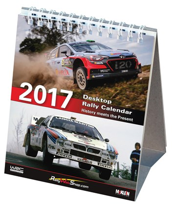 McKlein Rally 2017 Desktop Calendar - click to enlarge