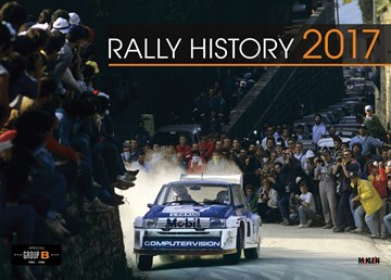 McKlein Rally History (Group B Special) 2017 Calendar - click to enlarge