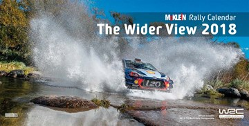 McKlein Rally The Wider View 2018 Calendar - click to enlarge