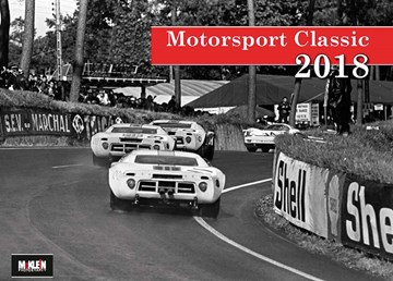 McKlein Motorsport Classic 2018 Calendar - click to enlarge