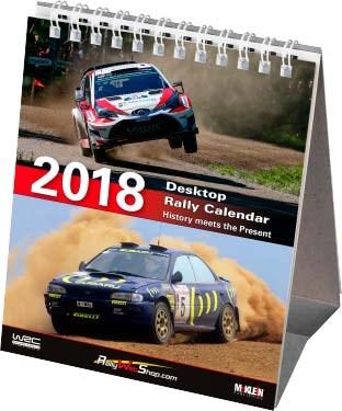 McKlein Rally 2018 Desktop Calendar - click to enlarge