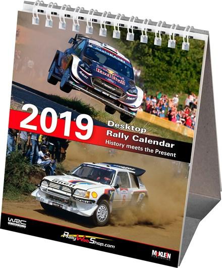 McKlein Rally 2019 Desktop Calendar