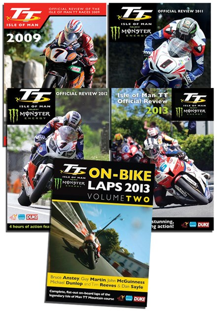 Michael Dunlop TT wins bundle