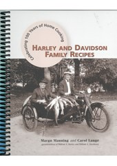 Harley and Davidson Family Recipes Book