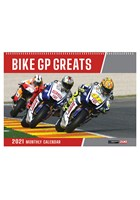 Bike Grand Prix Greats 2021 Wall Calendar