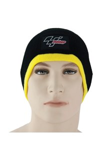 MotoGP Beanie Hat Black / Yellow