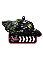 MotoGP Printed PVC Keyfob - Crutchlow  # 35
