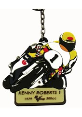 MotoGP Legends Key Fob Kenny Roberts #1