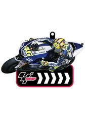MotoGP Printed PVC Keyfob - Rossi  # 46