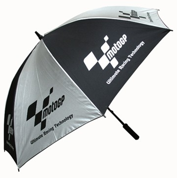 MotoGP Track Umbrella Black/Silver - click to enlarge