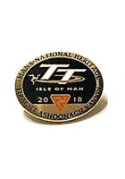 Manx National Heritage 2018 TT Pin Badge
