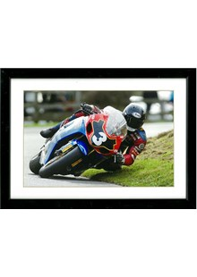 Guy Martin Print A4 Framed