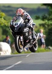 Cameron Donald Ballaugh Superbike Practice TT 2009 , Mounted, A1