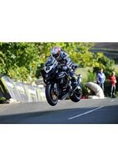 Cameron Donald Ballaugh Bridge TT 2010 3rd Practice, Mounted, A1