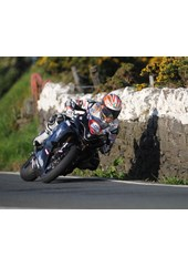 Cameron Donald Tower Bends Superstock Practice TT 2009 , Mounted, A1