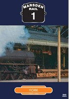 Marsden Rail Series York DVD