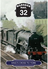 Marsden Rail SeriesEast Coast Main Line Steam King's X to York DVD