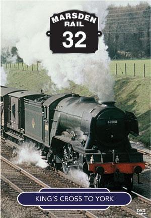 Marsden Rail SeriesEast Coast Main Line Steam King's X to York DVD
