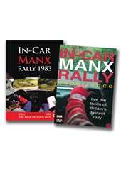 In-Car Manx Rally 2-DVD Bundle