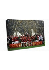 Manchester United A3 Canvas Print