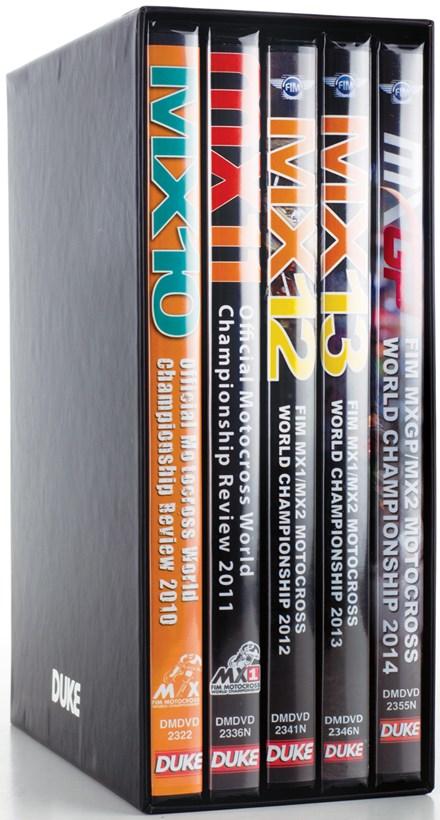 World Motocross 2010-14 (5 DVD) Boxset