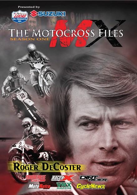 The Motocross Files: Roger DeCoster DVD