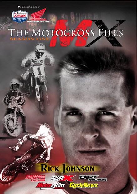 "The Motocross Files: Rick ""Bad Boy"" Johnson DVD"